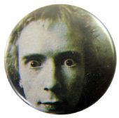 Sex Pistols - 'Johnny Stare Close Up' Button Badge